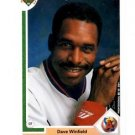 Dave Winfield Trading Card Single 1991 Upper Deck #337 Angels