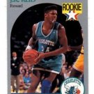 J.R. Reid RC Trading Card Single 1990 Hoops #57 Hornets