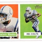Dominic Rhodes Trading Card Single 2002 Topps Heritage #16 Colts