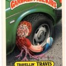 Travellin Travis Sticker 1986 Topps Garbage Pail Kids #127a