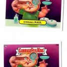 Contact Carl Eyeball Paul Trading Card Lot 2013 Topps Garbage Pail Kids 42a 42b