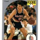Drazen Petrovic RC Trading Card Single 1990 Hoops #248 Trailblazers