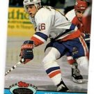 Pat Lafontaine Trading Card Single 1991-92 Stadium Club #123 Islanders