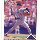 Orel Hershiser Trading Card Single 1993 OPC #136 Dodgers