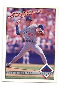 Orel Hershiser Trading Card Single 1993 OPC #136 Dodgers