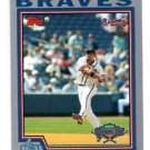 Rafael Furcal Trading Card Single 2004 Topps Opening Day #93 Braves