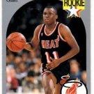 Sherman Douglas RC Trading Card Single 1990 Hoops #164 Heat