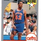 Chucky Brown RC Trading Card Single 1990 Hoops #71 Cavaliers