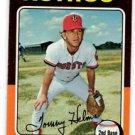 Tom Helms Trading Card Single 1975 Topps #119 Astros EXMT