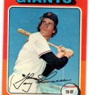 Gary Thomasson Trading Card Single 1975 Topps #529 Giants NMMT