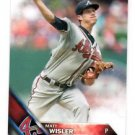 Matt Wisler Future Stars Trading Card Single 2016 Topps #242 Braves