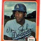 Von Joshua Trading Card Single 1975 Topps #547 NMT