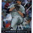 Carson Fulmer Bowman Scouts Impact Insert 2015 Bowman Chrome Draft #BSICF