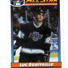 Luc Robataille Trading Card Single 1991-92 OPC #260 Kings