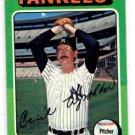 Cecil Upshaw Trading Card Single 1975 Topps #92 Yankees EXMT