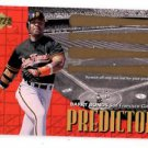 Barry Bonds Predictor Unscratched Trading Card Single 2000 Upper Deck #P24