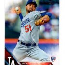 Zach Lee RC Trading Card Single 2016 Topps #177 Dodgers