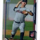 Grant Hockin Refractor Parallel SP 2015 Bowman Chrome Draft #115 Indians