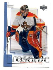 Roberto Luongo Trading Card Single 2000-01 UD Reserve #38 Panthers