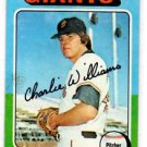 Charlie Williams Trading Card Single 1975 Topps #449 Giants EXMT