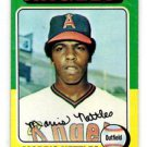 Morris Evans Trading Card Single 1975 Topps #632 Angels EXMT