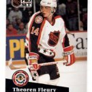 Theoren Fluery Trading Card Single 1991-92 Pro Set #274 Flames AS