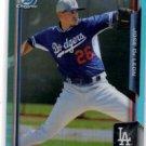 Jose De Leon Blue Sky Refractor SP 2015 Bowman Chrome Draft #97 Dodgers