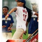 Mo'Ne Davis First Pitch Insert 2016 Topps #FP4 Red Sox
