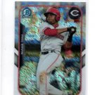 Phil Ervin Farms Finest Insert 2015 Bowman Chrome #FFMPE Reds