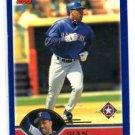 Juan Gonzalez Trading Card Single 2003 Topps #38 Rangers
