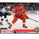 Nicklas Lidstrom Trading Card Single 1998-99 UD Choice #77 Red Wings
