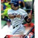 Delino Deshields Jr Future Stars Trading Card Single 2016 Topps #19 Rangers