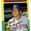 Mike Hargrove Trading Card Single 1975 Topps #106 Rangers EX+