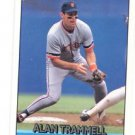 Alan Trammell  Trading Card Single 1992 Donruss #164 Tigers
