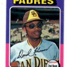 Derrell Thomas Trading Card Single 1975 Topps #378 Padres NMT