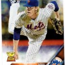 Noah Syndegaard Future Stars Trading Card Single 2016 Topps #43 Mets