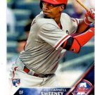 Darnell Sweeney RC Trading Card Single 2016 Topps #157 Phillies