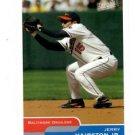 Jerry Hairston Jr Trading Card Single 2004 Topps Bazooka 187 Orioles