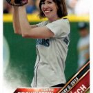 Carrie Brownstein First PItch Insert 2016 Topps #FP17 Mariners