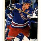 Brian Leetch Gold Parallel Trading Card 1993-94 Premier #25 Rangers