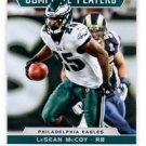 LeSean McCoy Complete Players Trading Card Single 2012 Score #2 Eagles