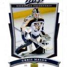 Chris Mason Trading Card Single 2007-08 Upper Deck MVP #212 Predators
