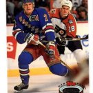 Brian Leetch Trading Card Single 1992-93 Topps Stadium Club #73 Rangers