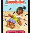 Popped Paula Black Parallel SP 2015 Topps Garbage Pail Kids #34b