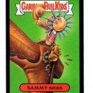 Sammy Spurs Black Parallel SP 2015 Topps Garbage Pail Kids #48a