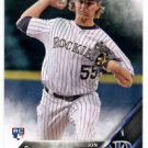 Jon Gray RC Trading Card Single 2016 Topps #284 Rockies