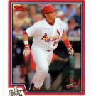 Yadier Molina Berger's Best Trading Card Single 2016 Topps #BB53 Cardinals