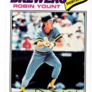 Robin Yount Berger's Best Trading Card Single 2016 Topps #BB26 Brewers