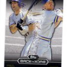 Paul Molitor Robin Yount Back to Back Trading Card Single 2016 Topps #B2B8