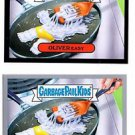 Oliver Easy Silver & Base Parallel SP Lot 2015 Topps Garbage Pail Kids #52b